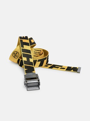 OFF WHITE c/o VIRGIL ABLOH - YELLOW INDUSTRIAL 2.0 BELT