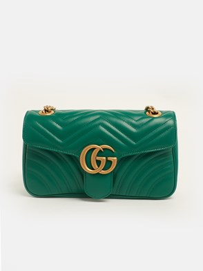 GUCCI - GREEN GG MARMONT BAG