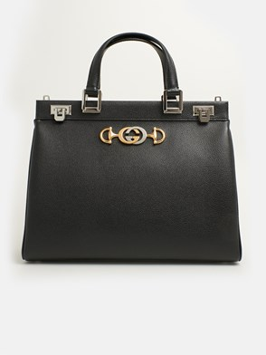GUCCI - BLACK ZUMI BAG