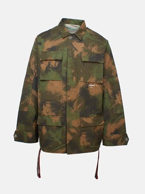 OFF WHITE c/o VIRGIL ABLOH - CAMOUFLAGE PAINTBRUSH JACKET