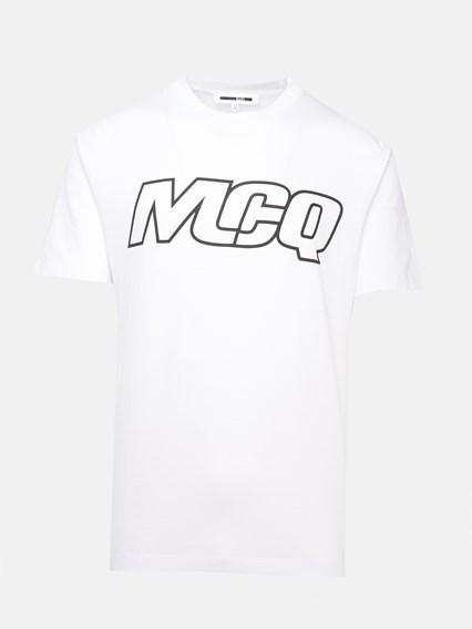McQ BY ALEXANDER MCQUEEN WHITE T-SHIRT