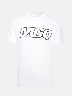McQ BY ALEXANDER MCQUEEN - WHITE T-SHIRT