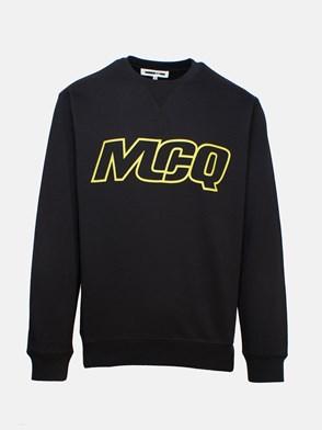McQ BY ALEXANDER MCQUEEN - BLACK SWEATSHIRT