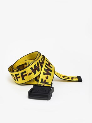 OFF WHITE c/o VIRGIL ABLOH - YELLOW INDUSTRIAL BELT