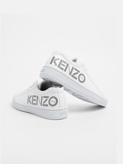 KENZO WHITE TENNIX SNEAKERS