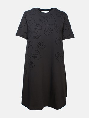 McQ BY ALEXANDER MCQUEEN - BLACK DRESS