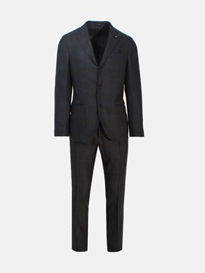 LARDINI - BLUE AND GREY SUIT