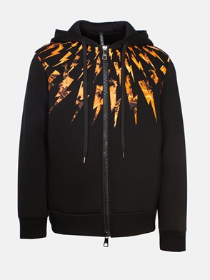 NEIL BARRETT - BLACK SWEATSHIRT