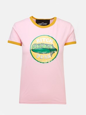 MARC JACOBS - PINK THE RINGER T-SHIRT