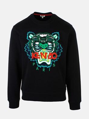 KENZO - FELPA CLASSIC TIGRE NERO