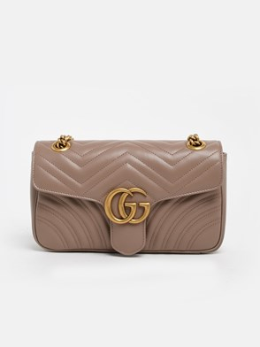 GUCCI - POWDER PINK GG MARMONT BAG