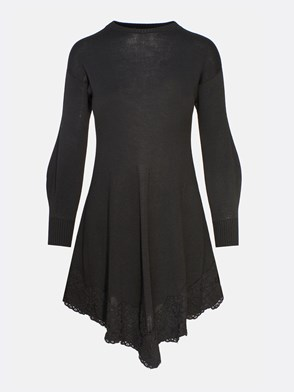 PHILOSOPHY BY LORENZO SERAFINI - BLACK DRESS