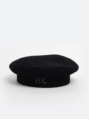 RUSLAN BAGINSKIY - BLACK BERET HAT