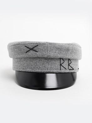 RUSLAN BAGINSKIY - GREY BAKER BOY HAT