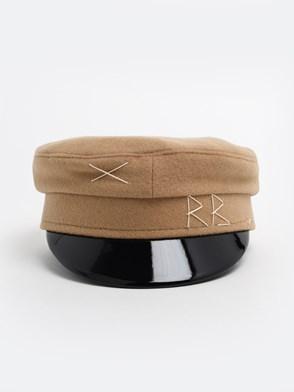 RUSLAN BAGINSKIY - BEIGE BAKER BOY HAT