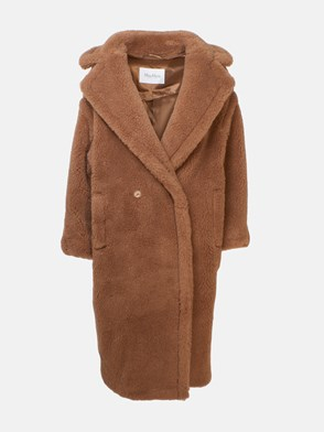 MAX MARA - CAPPOTTO TEDDY MARRONE