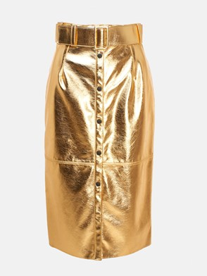 MSGM - GONNA LUNGA ORO