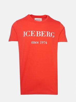 ICEBERG - T-SHIRT ROSSA