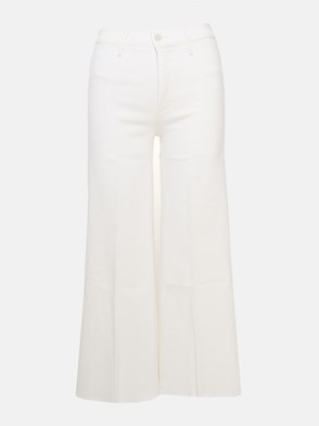MOTHER - WHITE ROLLER SWOONER JEANS