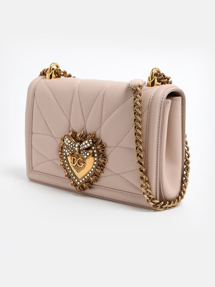 DOLCE & GABBANA PINK DEVOTION BAG