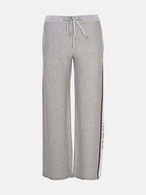ICEBERG - GREY GLITTERED PANTS