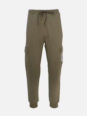 BURBERRY - GREEN FOSTER PANTS