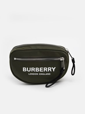 BURBERRY - GREEN CANNON FANNY PACK