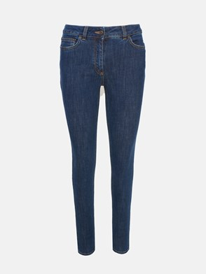 MOSCHINO - BLUE TEDDY DENIM JEANS