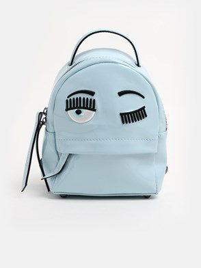 CHIARA FERRAGNI - PALE BLUE BACKPACK