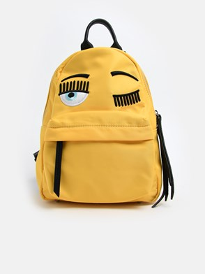 CHIARA FERRAGNI - YELLOW BACKPACK
