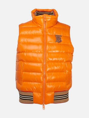BURBERRY - ORANGE HESSLE VEST