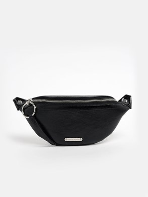 REBECCA MINKOFF - CLUTCH MINI SLING NAPLACK BLAC