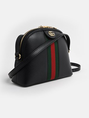 GUCCI - BLACK OPHIDIA BAG