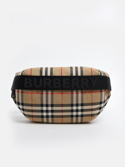 BURBERRY SONNY CHECK FANNY PACK