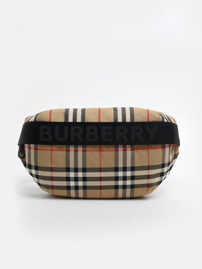BURBERRY - SONNY CHECK FANNY PACK