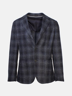 Z ZEGNA - HEATHER BLUE DROP 8 BLAZER