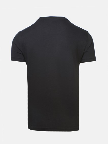 POLO RALPH LAUREN BLACK BASIC LOGO T-SHIRT