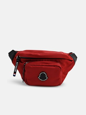 MONCLER - RED FELICIE FANNY PACK