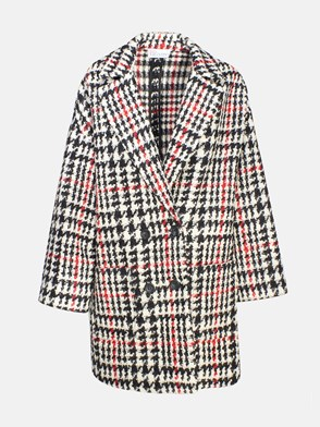 REDVALENTINO - CHECK OVER COAT