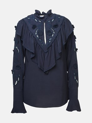 SEE BY CHLOE' - NAVY SHIRT