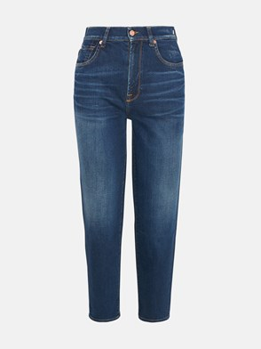 7 FOR ALL MANKIND - DARK BLUE CANYON JEANS