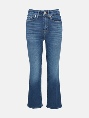 7 FOR ALL MANKIND - JEANS VINTAGE BLU