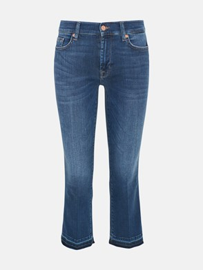 7 FOR ALL MANKIND - JEANS BOOT SLIM BLU