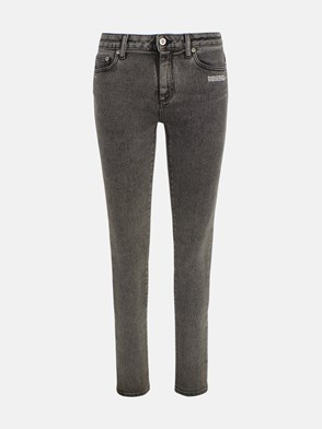 OFF WHITE c/o VIRGIL ABLOH - DARK GREY SKINNY JEANS