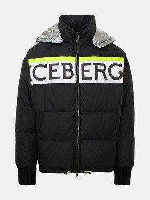 ICEBERG - SHORT BLACK DOWN JACKET