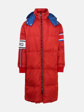 ICEBERG - RED LONG DOWN JACKET