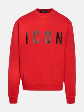 DSQUARED2 - FELPA ICON ROSSA