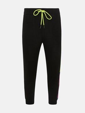 ICEBERG - BLACK TRACKSUIT PANTS