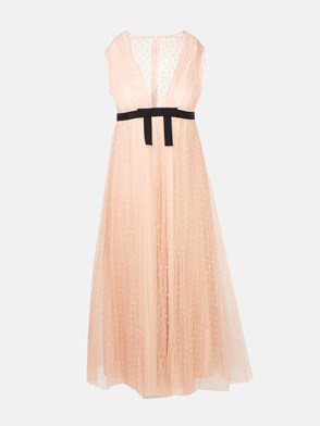 REDVALENTINO - PINK BOW DRESS