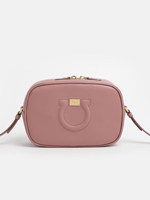 SALVATORE FERRAGAMO - BORSA CITY CC CAMERA BAG ROSA